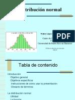 Modulo Sobre La Distribucion Normal