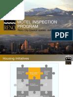 Motel Inspection Program