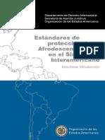 Estandares de Protección Afro OEA