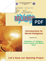 2. Religion Session1