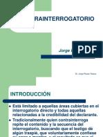 Contrainterrogatorio - Jorge Rosas Yataco