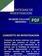 Estrategias de Investigación - Wilberd Espino
