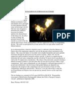 Fire Hazard of Li-ion Batteries