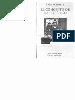 Carl Schmitt - El concepto de lo político.pdf