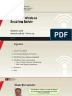 Industrial Wireless Enabling Safety the Automation