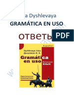 Dyshlevaya I a - Gramatica en Uso Otvety - 2010
