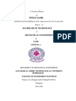 A Technical Report FORMAT