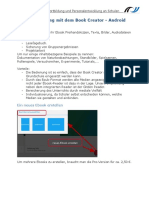 Android Bookcreator