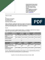 Clarification Letter GEIIPL