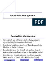 7 Receivables Management
