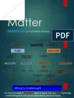 Matter Solutions