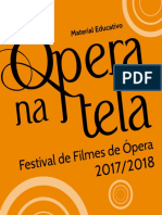 Caderno educativo Ópera