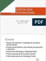 Odontologia Morfofuncional Aula 1 Alunos