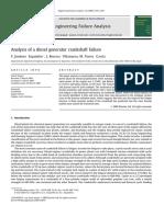 1. Analysis of a Diesel Generator Crankshaft Failure