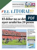 El Litoral Mañana 16-06-2018