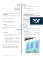 Obstetrics - Fetal Growth Disorder