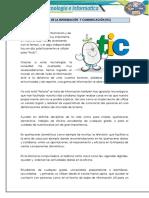 La tecnología de la información y comunicación (TIC)