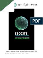 Programa Conferencia de ESOCITE 2018 v1