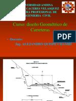 Dibujo Diseño de Carreteras norma Peruana