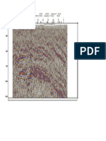 Petrel Printing - Interpretation Window 4 [TWT] - Seismic Time 1