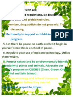 Decalogue for Students to Succeed