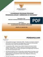 Koordinasi Program-program Penanggulangan Kemiskinan Di Indonesia