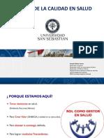 CLASE Gestión de la calidad en Salud 2017 Puerto Montt Clase N° 2