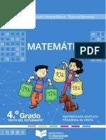 4to Egb Texto Matematica