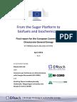 Sugar Platform Final Report