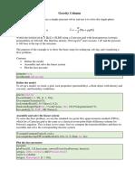 MRST Script Exercises 01