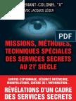 Lieutenant Colonel x Methodes Speciales Services Secrets