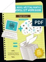 NaNo Novel Workbook