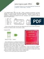 Compuertas Logicas Con FPGA