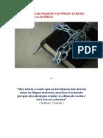 Conheça Toda a Perseguição e Proibição Da Igreja Católica à Leitura Da Bíblia