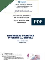 Enf Pulmonar Intersticial Difusa WIENER