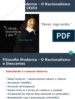 Aula 8 Filosofia Moderna Racionalismo