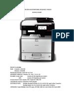 Cotizaciones de Impresoras Multifuncional en Blanco y Negro