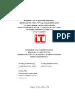 Informe de Pasantias HidroPaez Genesis Trincado