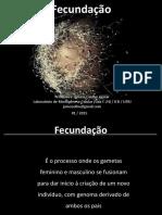 Fecundação - Prof. Juliana Coelho