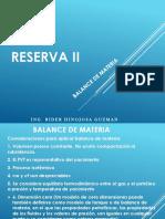 Reserva II (Tema 3)