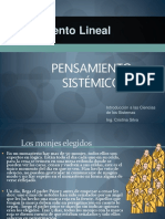Pensamiento Lineal vs Sistemico