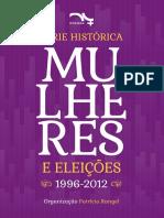 Mulheres Nas Eleicoes 1996 2012 Serie Historica