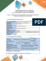 Guia de actividades y rubrica de evaluacion. Fase 2. Proponer un plan de personal que involucre diseño de puestos, reclutamiento y selección (2).docx