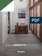 Catálogo Fademac Linha Ambienta Studio