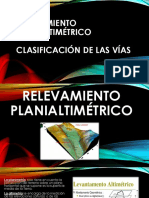 RELEVAMIENTO PLANIALTIMÉTRICO