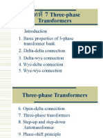 Three-phase Transformers PPT