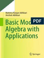 Basic Modern Algebra With Applications - Mahima Ranjan Adhikari