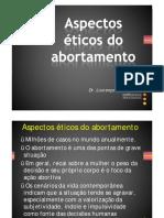 11 - Aspectos éticos do abortamento