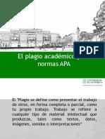 El Plagio Académico y Las Normas APA