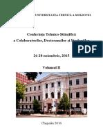 Conferinta Tehnic Vol II